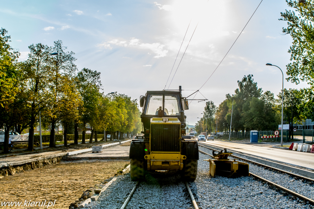 Building tram network, photo:Marcin Kierul