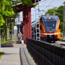 Trainstation in Tallinn, Photo: Maret Põldveer-Turay